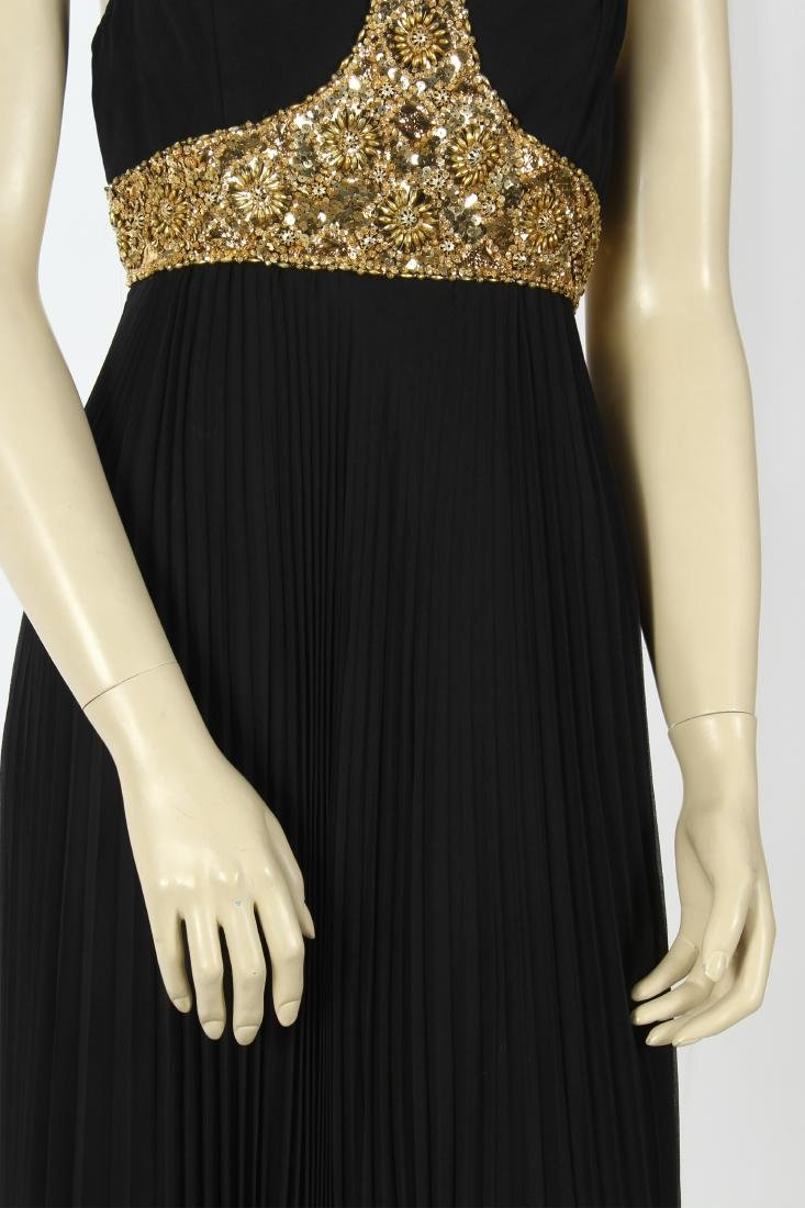Jean Patou Beaded Bodice Evening Gown - 6