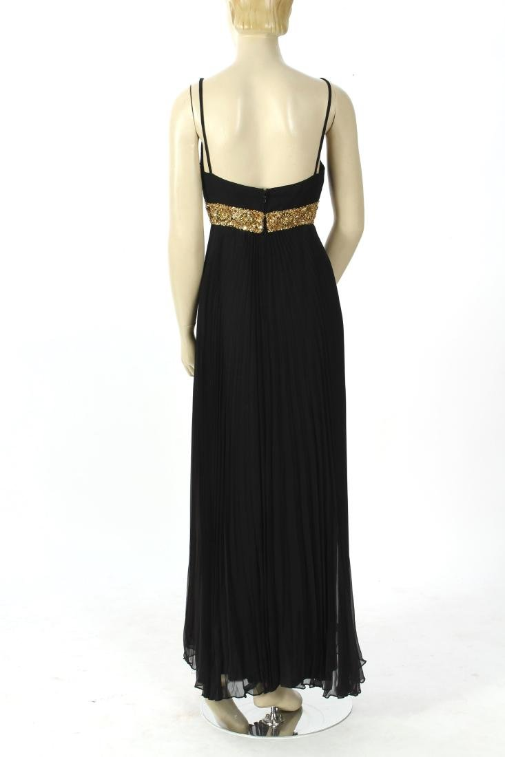 Jean Patou Beaded Bodice Evening Gown - 7