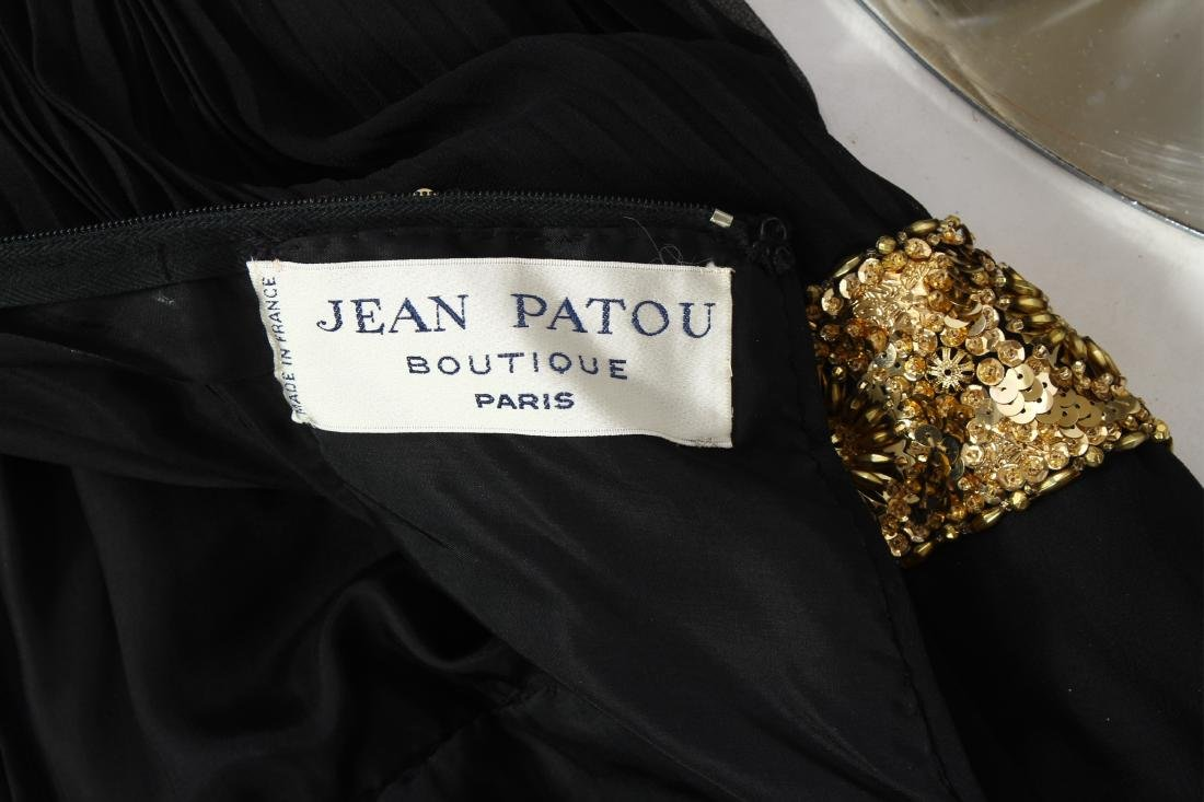 Jean Patou Beaded Bodice Evening Gown - 8