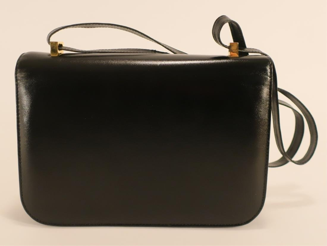 Black Hermes Constance Handbag - 3