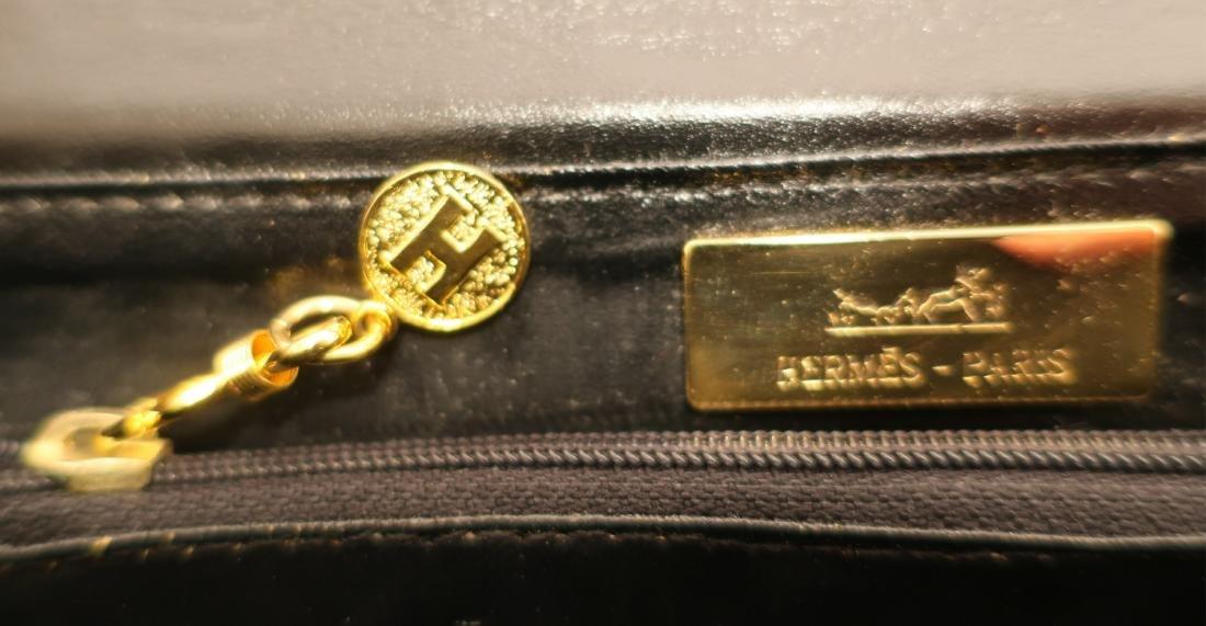 Black Hermes Constance Handbag - 6