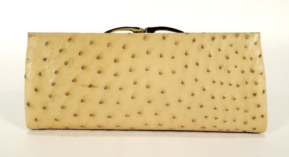 Ostrich Clutch by KC