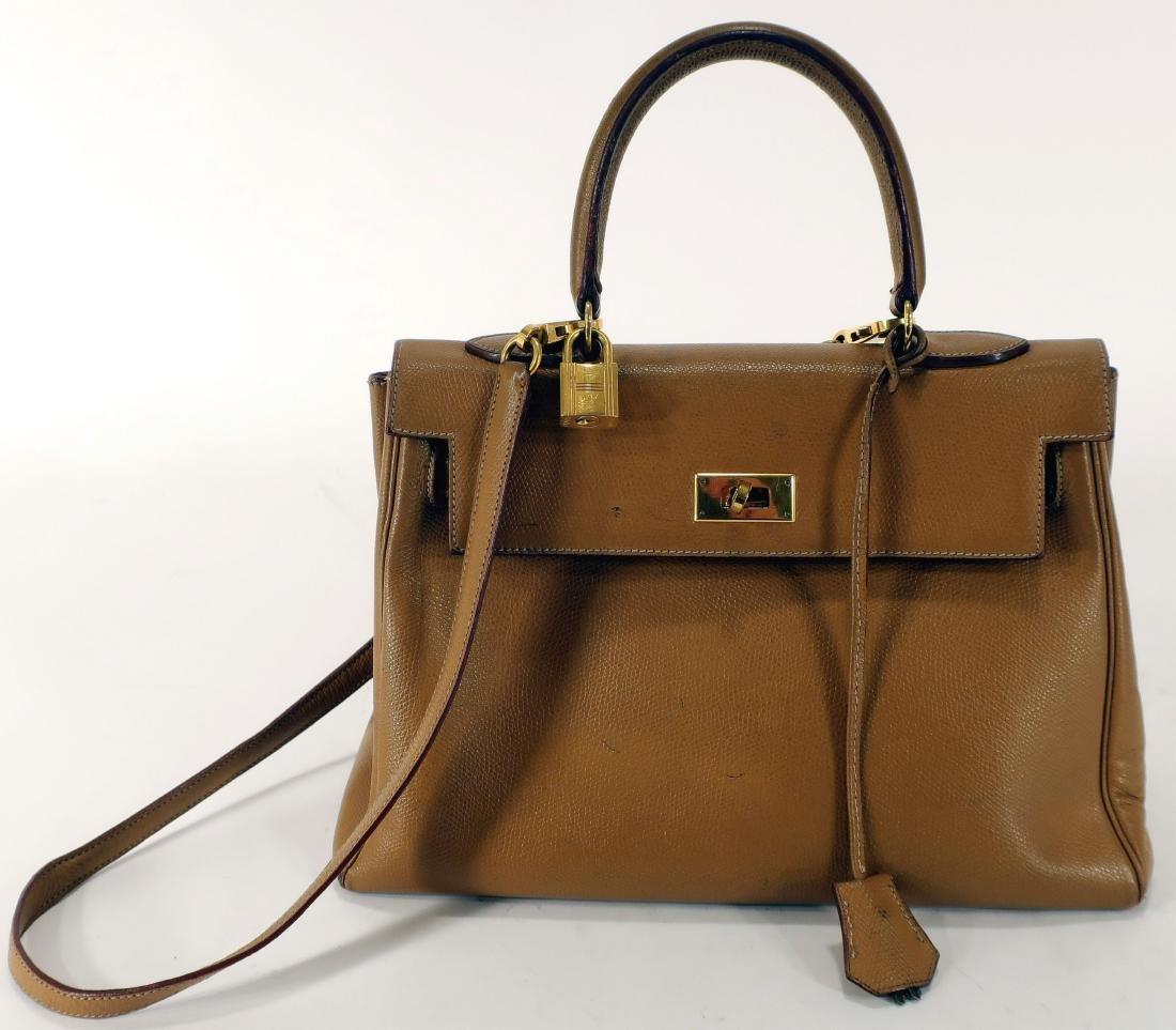 Hermes Leather Kelly Bag