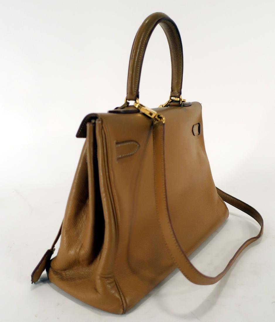 Hermes Leather Kelly Bag - 2