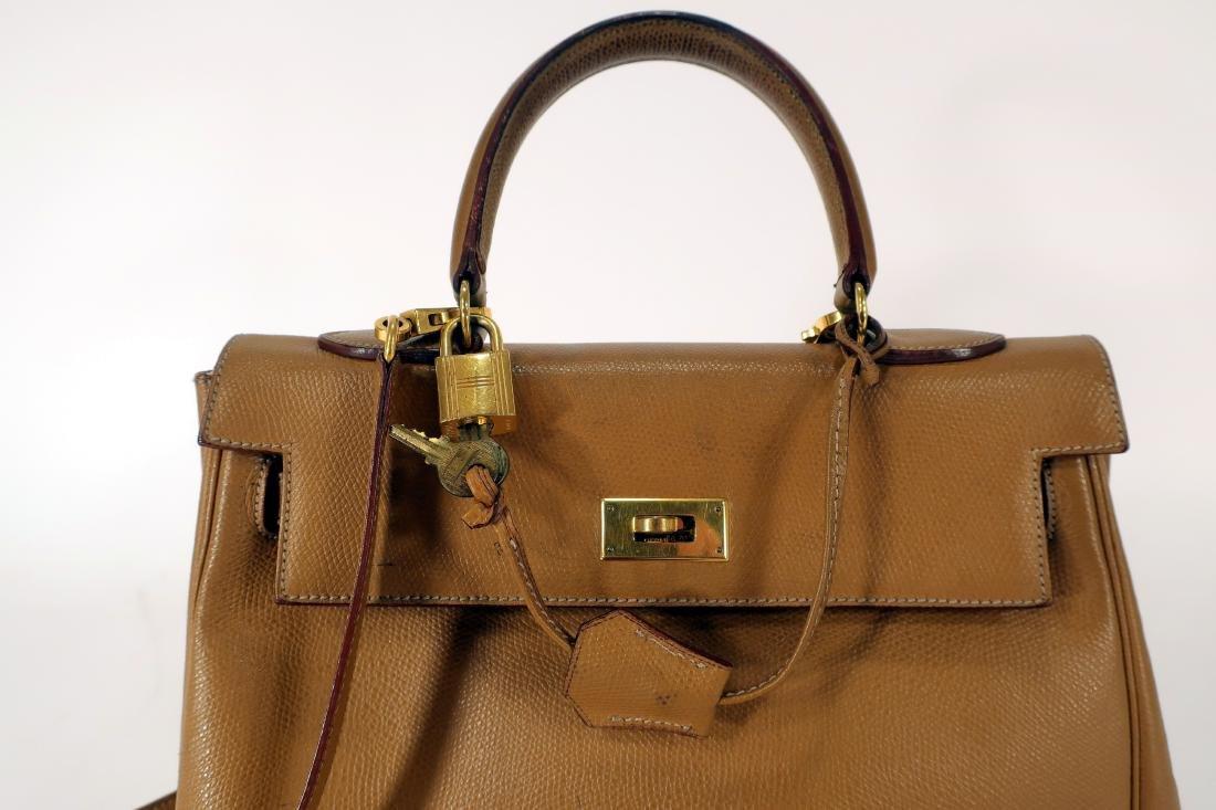 Hermes Leather Kelly Bag - 3