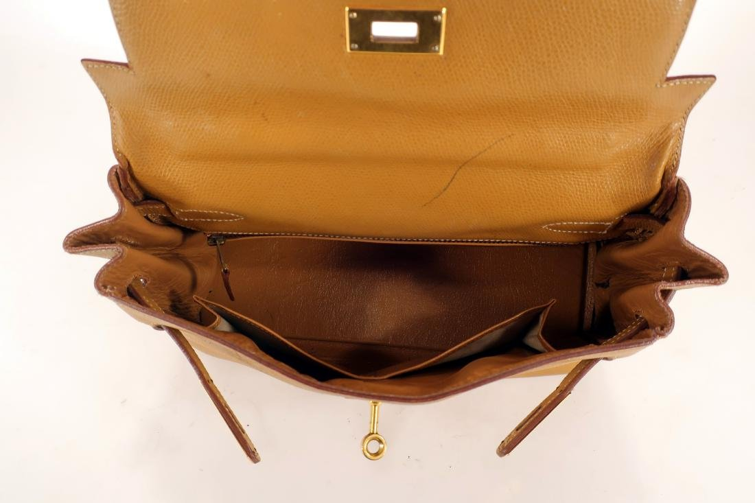 Hermes Leather Kelly Bag - 4