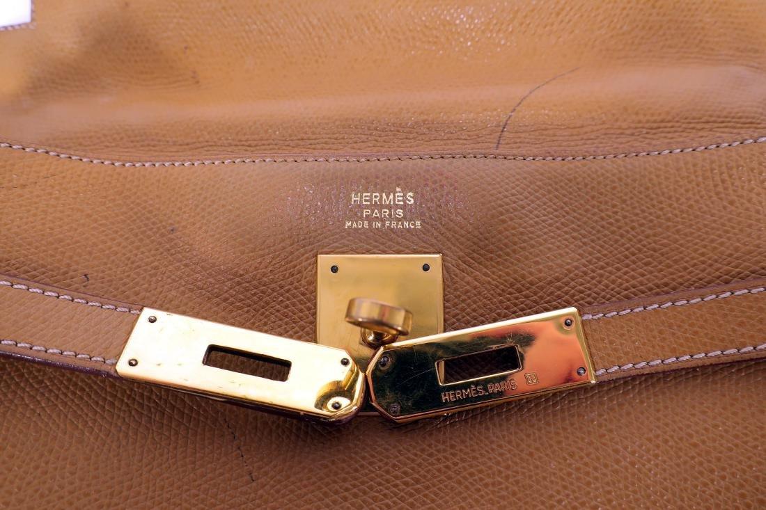 Hermes Leather Kelly Bag - 5