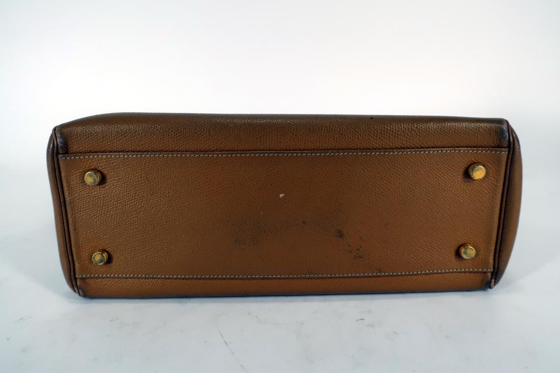 Hermes Leather Kelly Bag - 6