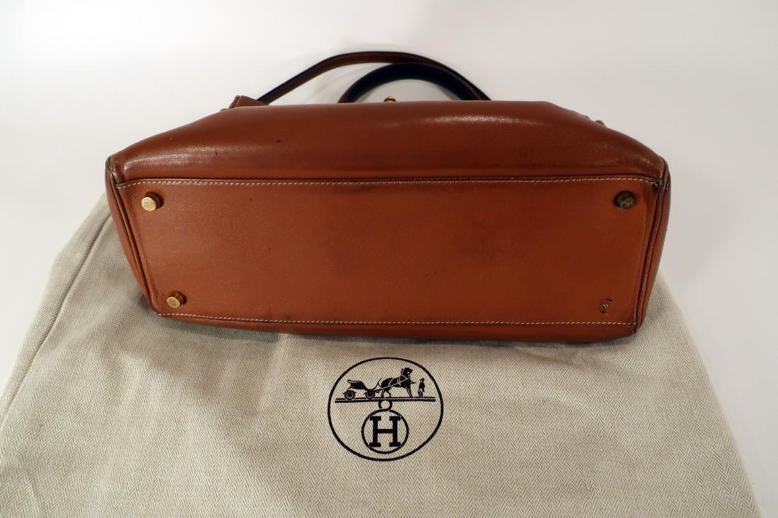 Hermes Camel Kelly Bag - 7