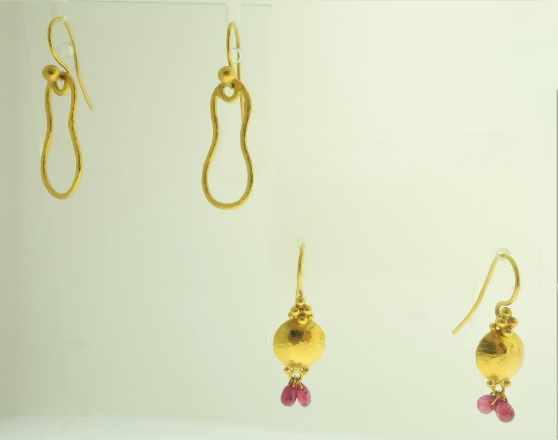 2 Pairs of Earrings by Gurhan