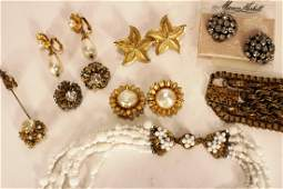 8 pieces of Vintage Miriam Haskell Jewelry