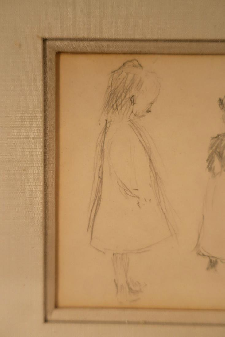 Claude Emile Schuffenecker, Trois Figures, Drawing - 3