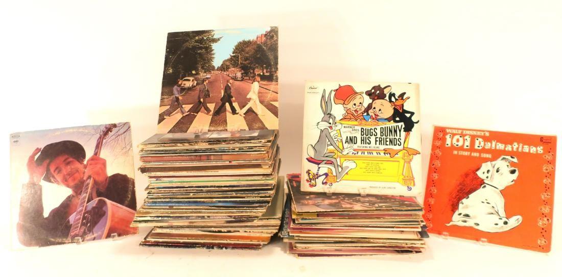 Lot of LP's, Vinyl records mixed artists