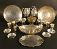 Sterling Silver Plates Etc  Randahl Mexican