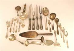 MIsc. Sterling Silver Serving Pieces19th-20th