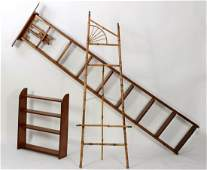 """The Bicycle Step Ladder Co."" Oak Ladder,etc."