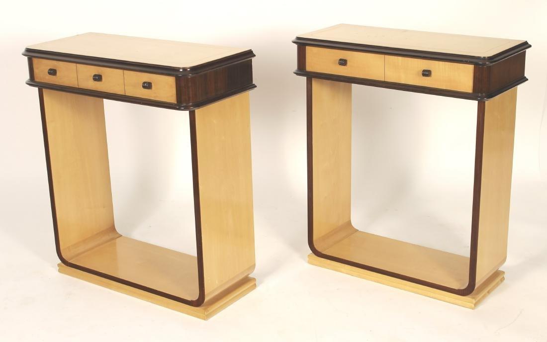 Pair of Italian Console Tables,c.1940