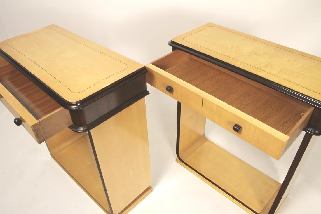 Pair of Italian Console Tables,c.1940 - 4