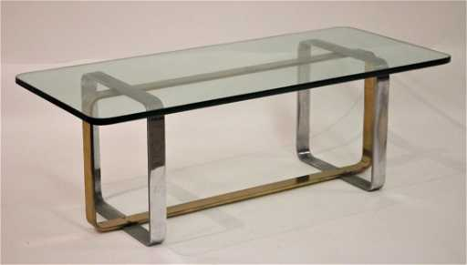 074eb651d8f94 Mid Century Modern Metal Glass Cocktail Table