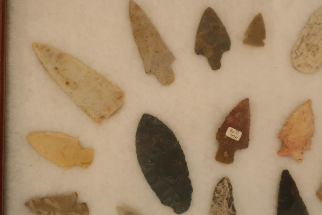 46 Arrowheads, Knifeblades, Spearhead  Collection - 4
