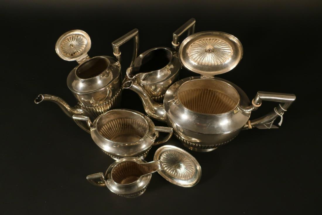 Austrian 7 Pc. .800 Silver Coffee/Tea Service - 4