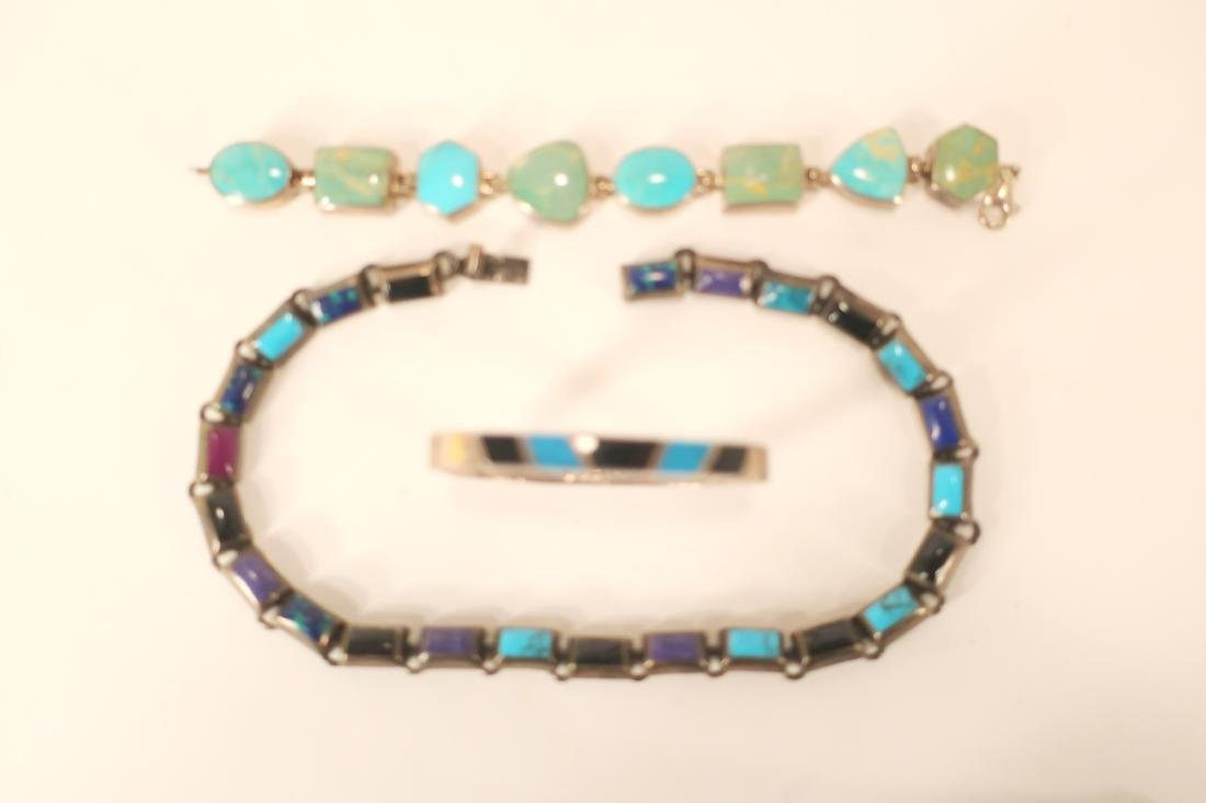Group of Turquoise Beaded Necklaces and Others - 2