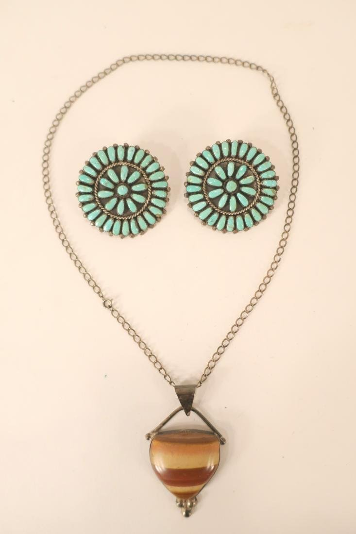 Group of Turquoise Beaded Necklaces and Others - 3