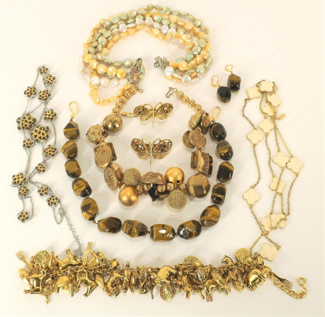 Large Lot of Assorted Costume Jewelry - 3