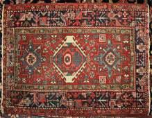 Hamadan Mat - Red & White