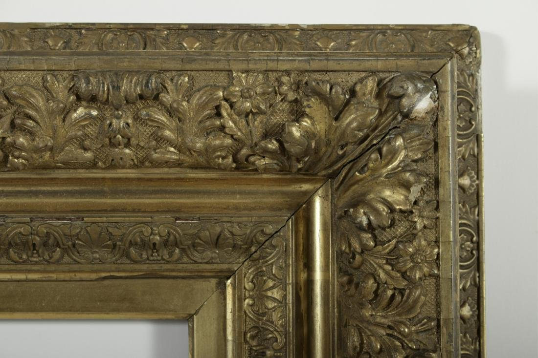 19th c. American Giltwood Picture/Mirror Frame - 2