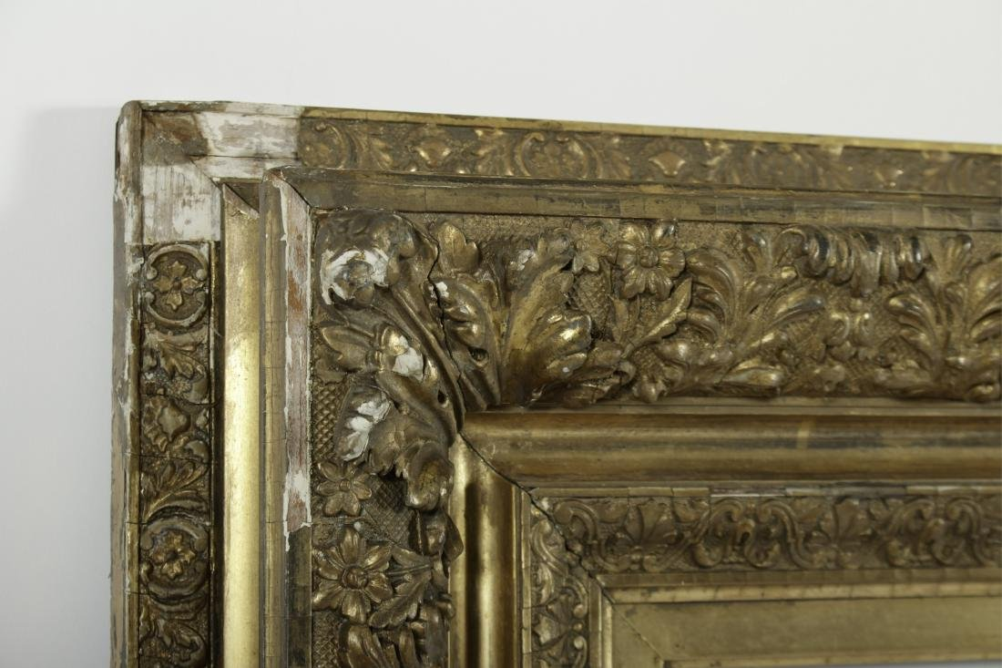 19th c. American Giltwood Picture/Mirror Frame - 3