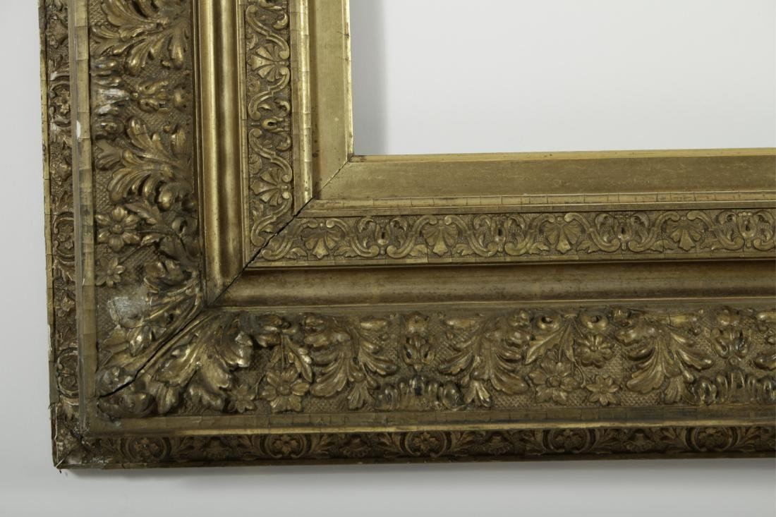 19th c. American Giltwood Picture/Mirror Frame - 4