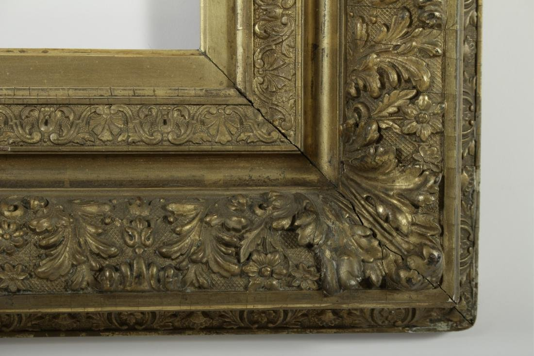 19th c. American Giltwood Picture/Mirror Frame - 5