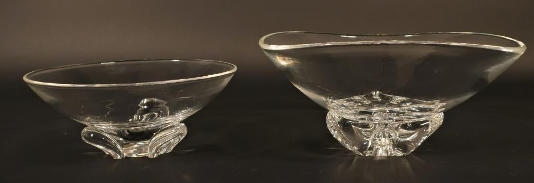 2 Steuben Glass Bowls