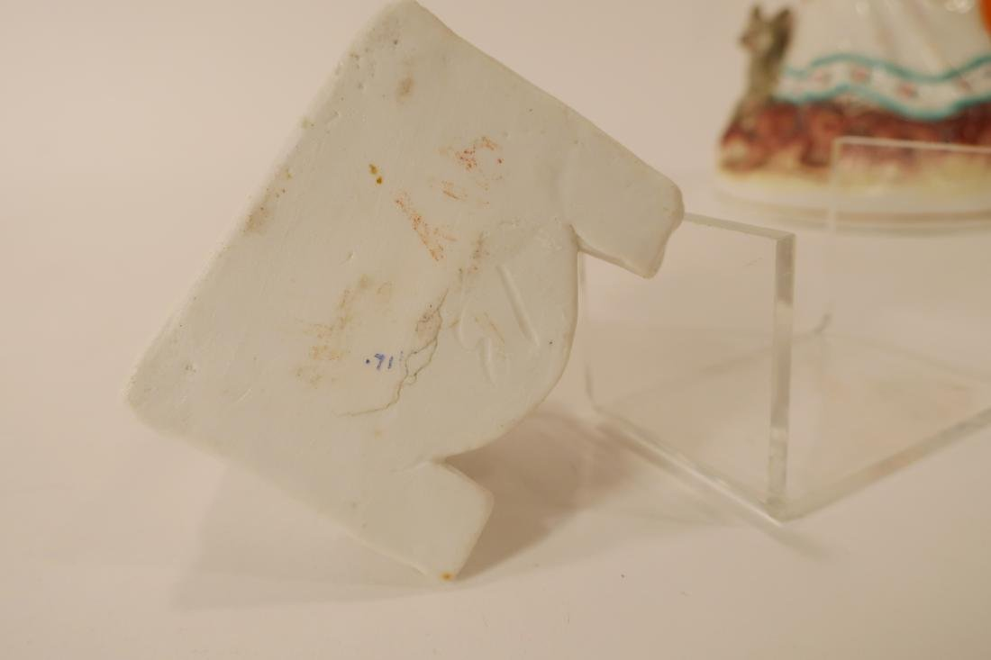 LRRH Mix of Staffordshire & Similar Figurines - 4
