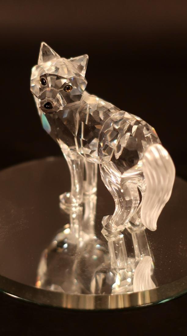 Little Red Riding Hood Swarovski Glass Figures - 3