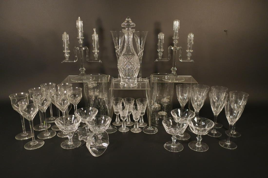 Misc. Crystal Glass: Waterford Stems et al