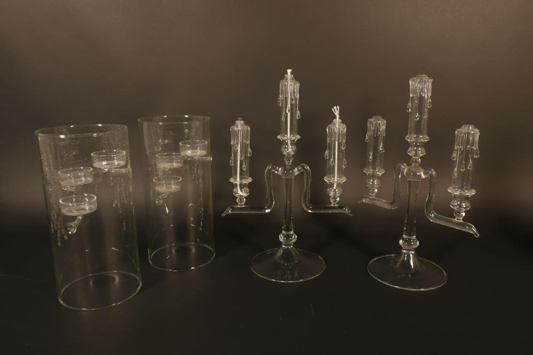 Misc. Crystal Glass: Waterford Stems et al - 2