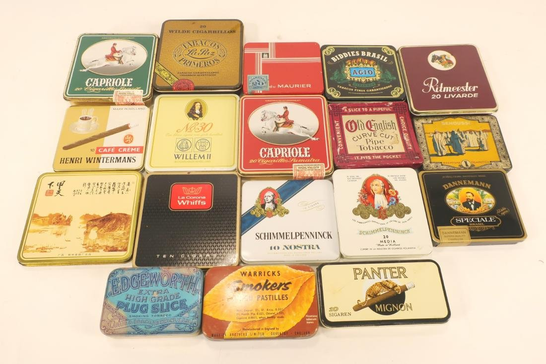 Antique/Vintage Global Tobacco/Snack Related Tins - 3
