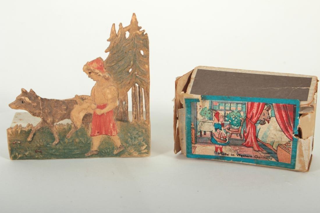 Little Red Riding Hood Iron Doorstop,Tieback Pins - 4