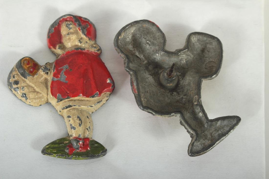 Little Red Riding Hood Iron Doorstop,Tieback Pins - 6