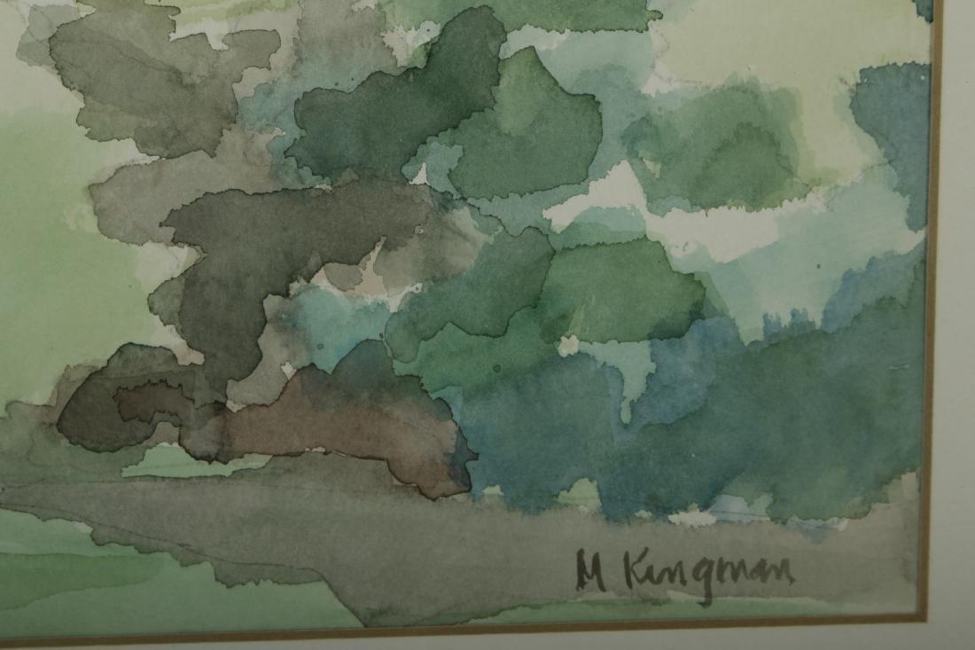 20th C.,Cows, W/C, signed M.Kingman - 4