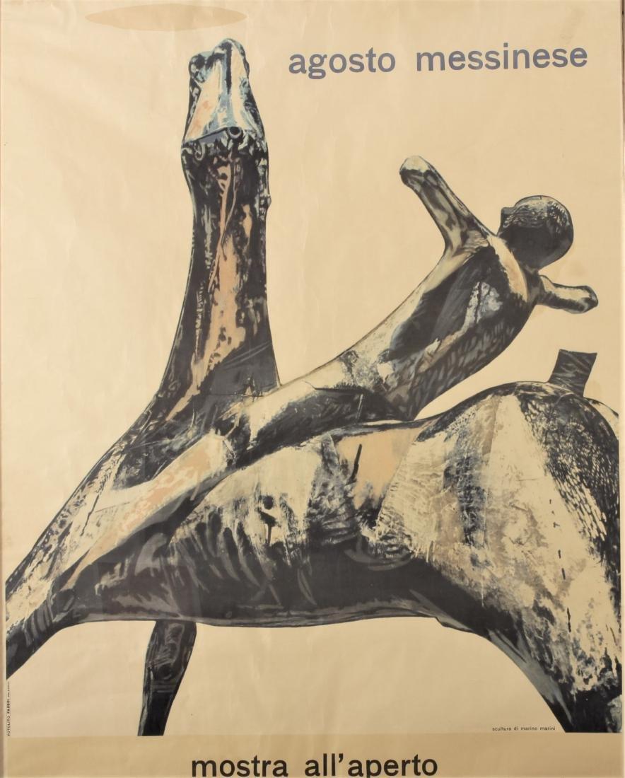 Marino Marini, Exhibition Poster, 1957 - 2