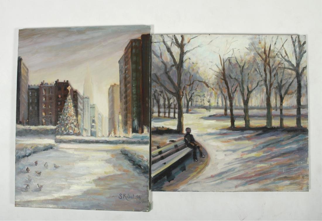 Sandra Rubel O/C and Pastel Cityscapes - 3