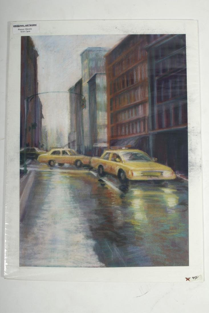 Sandra Rubel O/C and Pastel Cityscapes - 4