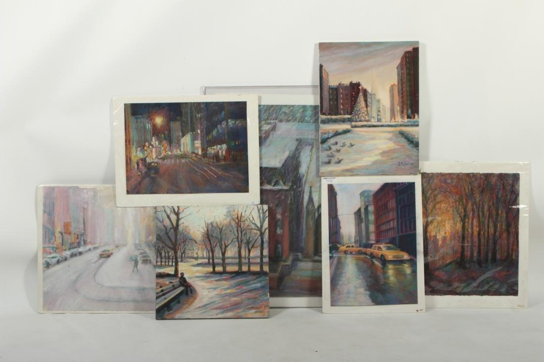 Sandra Rubel O/C and Pastel Cityscapes - 5