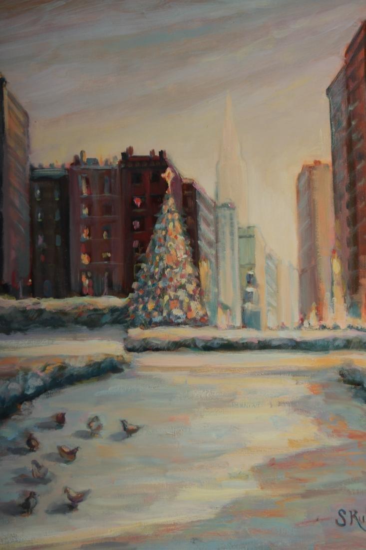 Sandra Rubel O/C and Pastel Cityscapes - 6