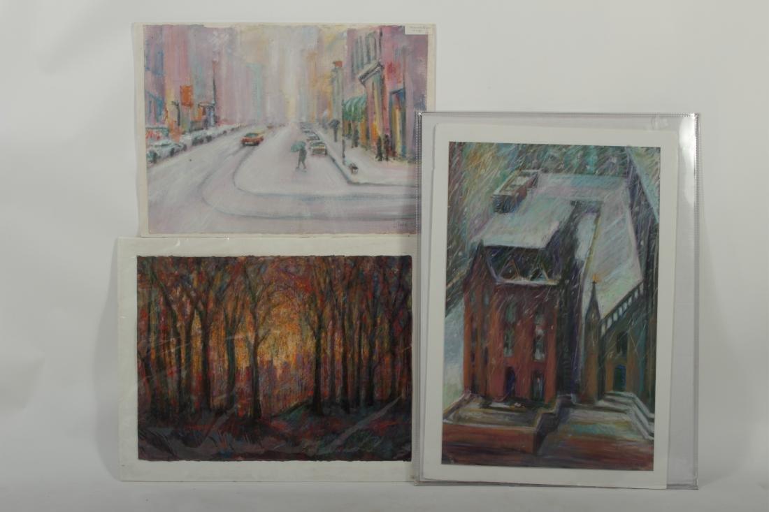 Sandra Rubel O/C and Pastel Cityscapes - 7