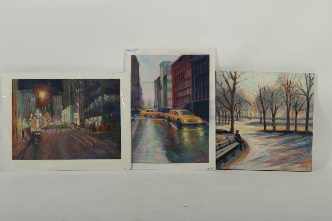Sandra Rubel O/C and Pastel Cityscapes - 8