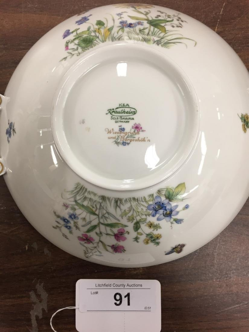 Krautheim Porcelain Dinner Service for 12 - 2
